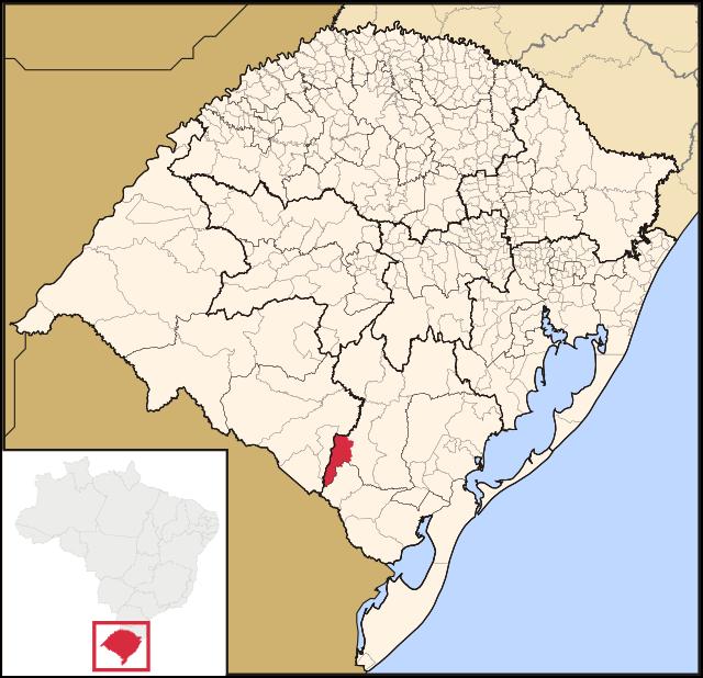 localização CANDIOTA